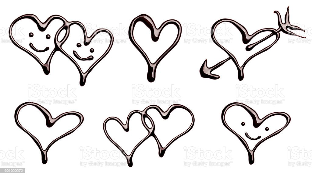 Royalty Free Shiny Chocolate Heart Pictures Images And Stock Photos