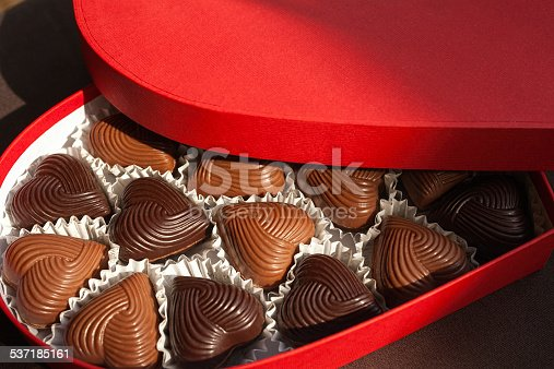 183269671 istock photo Chocolate Hearts 537185161