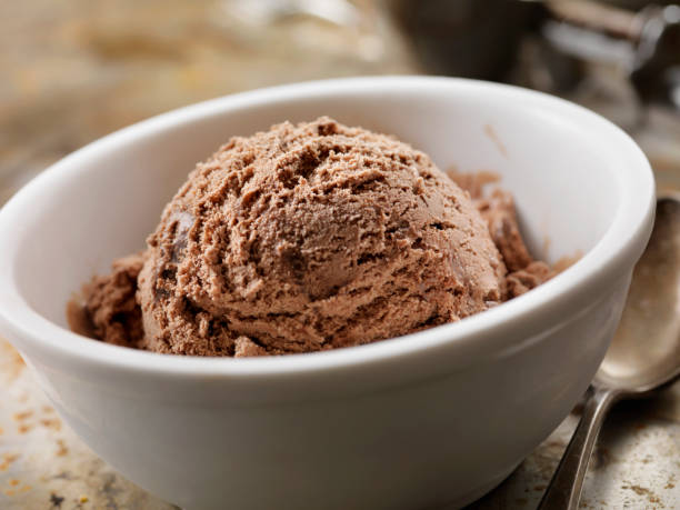 Chocolate Ice Cream Chocolate Ice Cream ice cream bar stock pictures, royalty-free photos & images