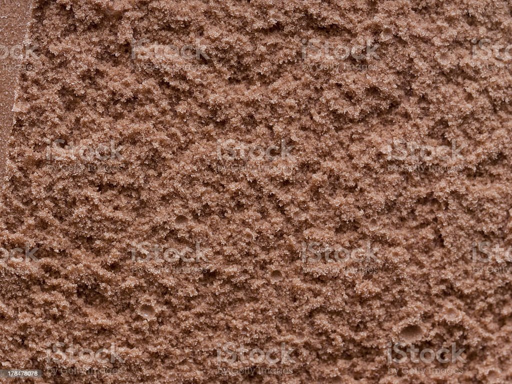 Chocolate ice cream stock photo