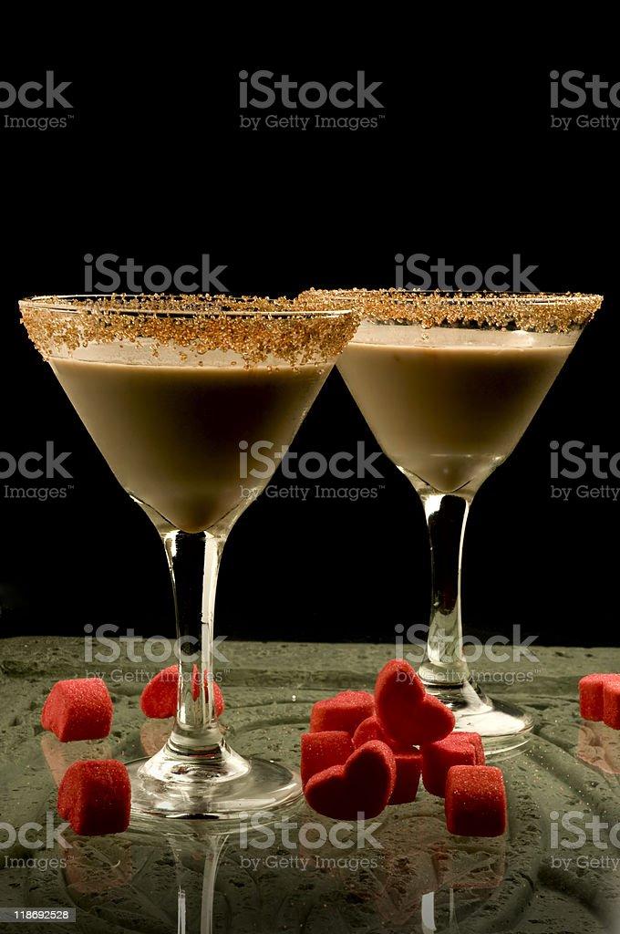 chocolate martini - Royalty-free Alcohol - Drink Stock Photo