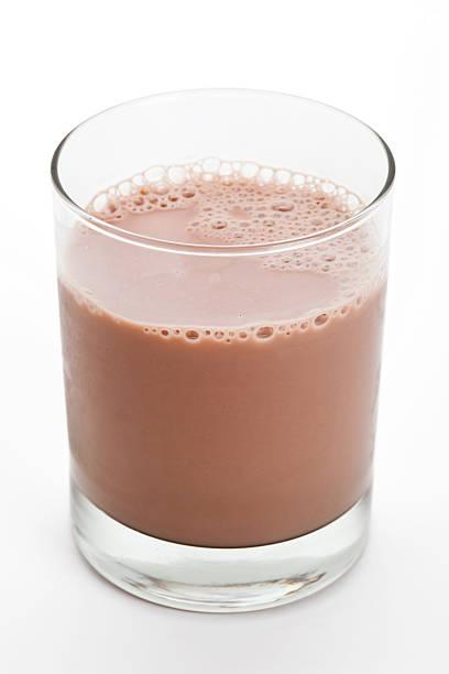 Chocolate Milk Chocolate Milk close up shot chocolate milk stock pictures, royalty-free photos & images