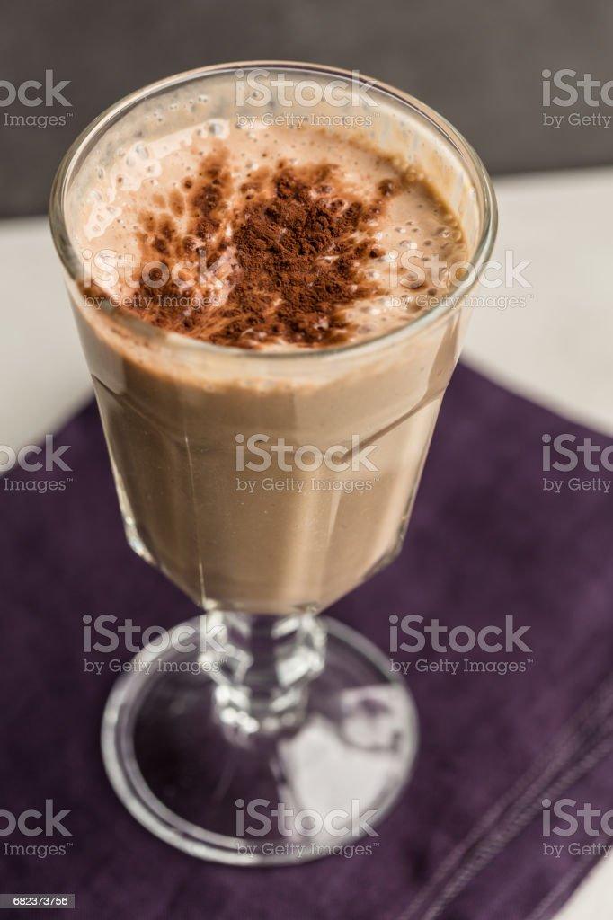 Chocolate Milk Shake foto stock royalty-free