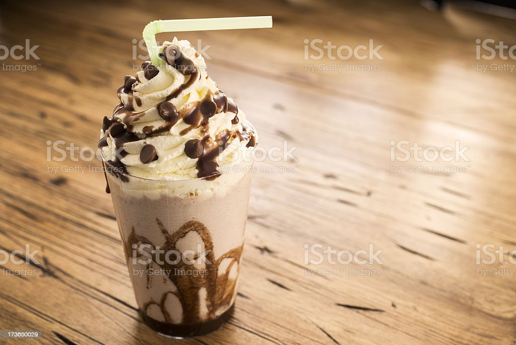 Chocolate Frappe royalty-free stock photo