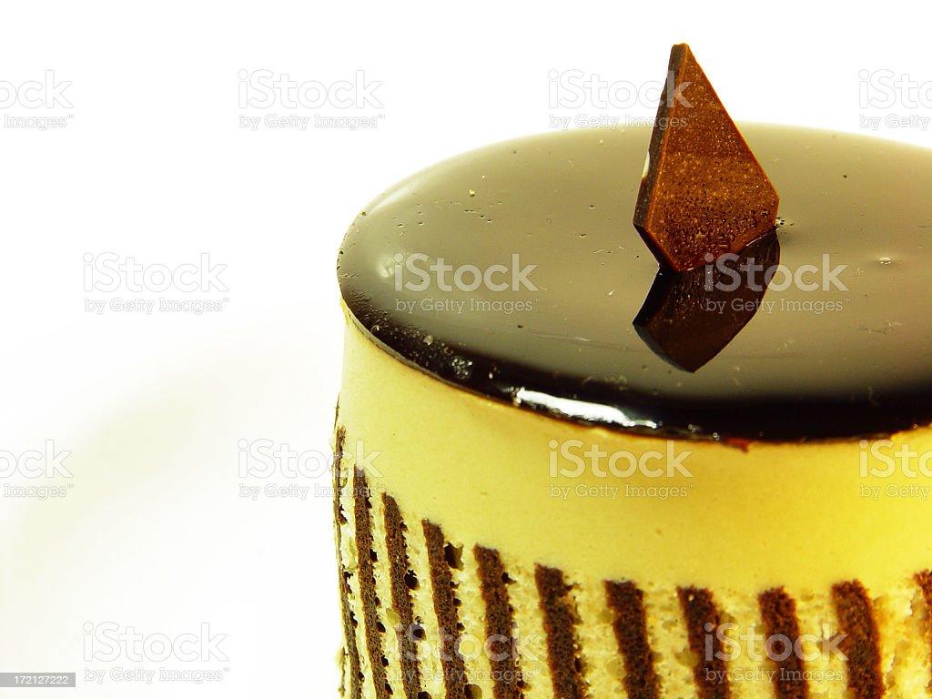 Chocolate Mousse cake royalty-free stock photo