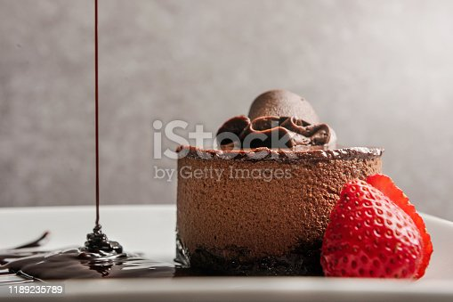 Chocolate mousse / Desserts concept (Click for more)