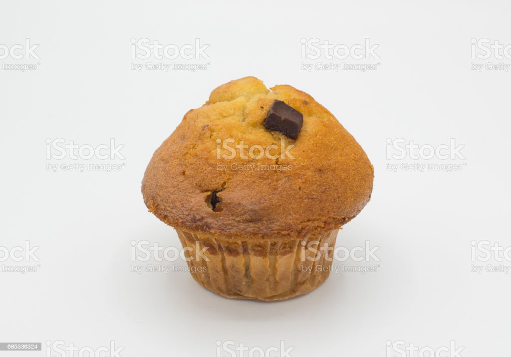 Chocolate muffin foto de stock royalty-free