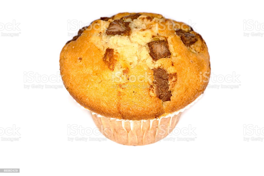 muffin al cioccolato foto stock royalty-free
