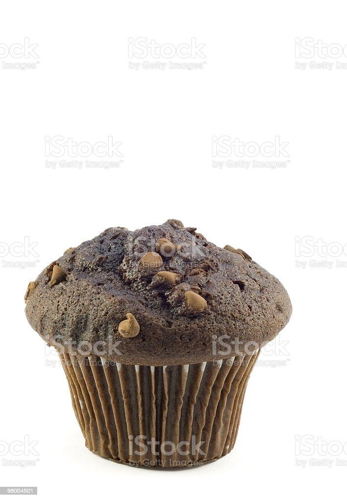 Muffin de Chocolate foto royalty-free