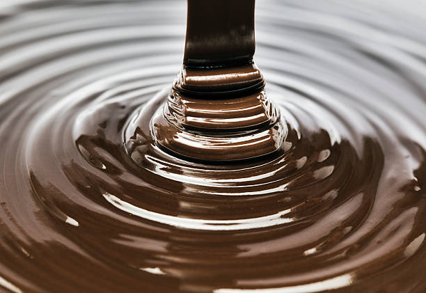 chocolate - chocolate syrup stock photos and pictures
