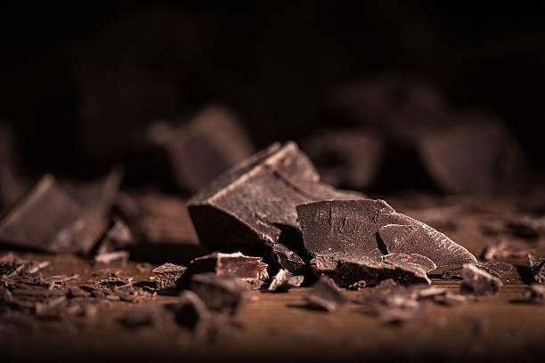 chocolate - pure chocola stockfoto's en -beelden