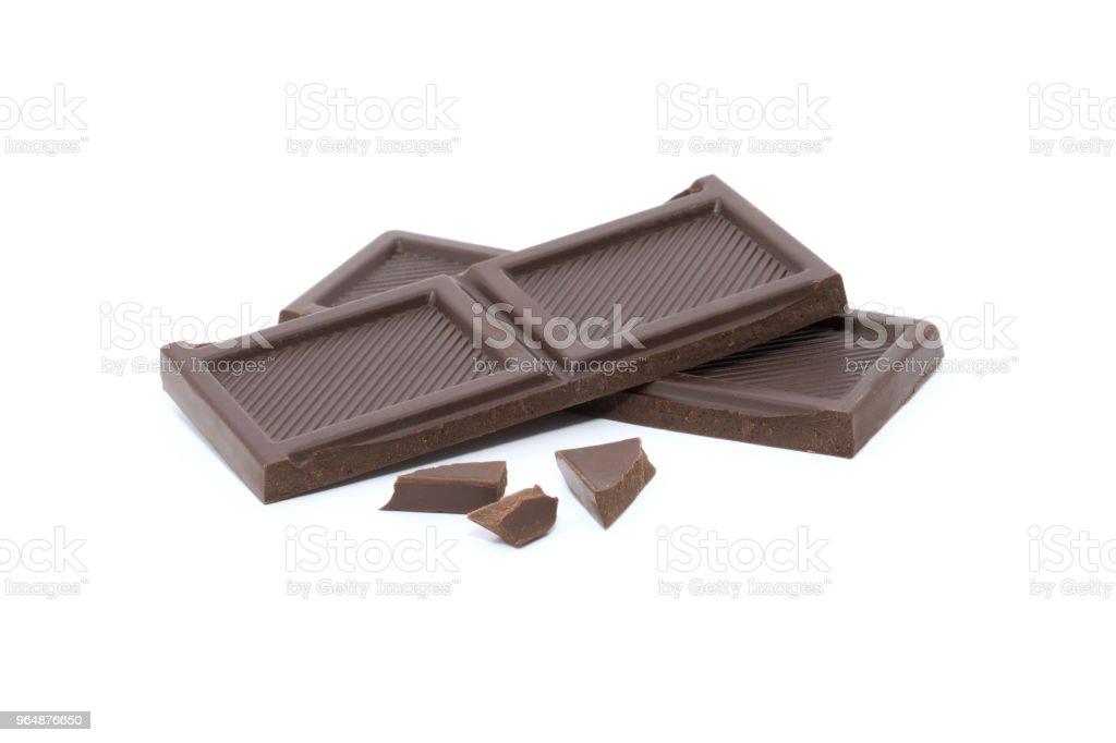 巧克力 - 免版稅一片圖庫照片