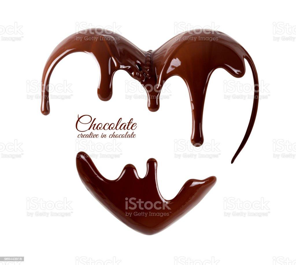 Chocolate zbiór zdjęć royalty-free