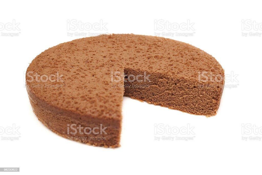 초콜릿 파이 royalty-free 스톡 사진