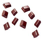 istock chocolate piece sweet food dessert falling 904856884