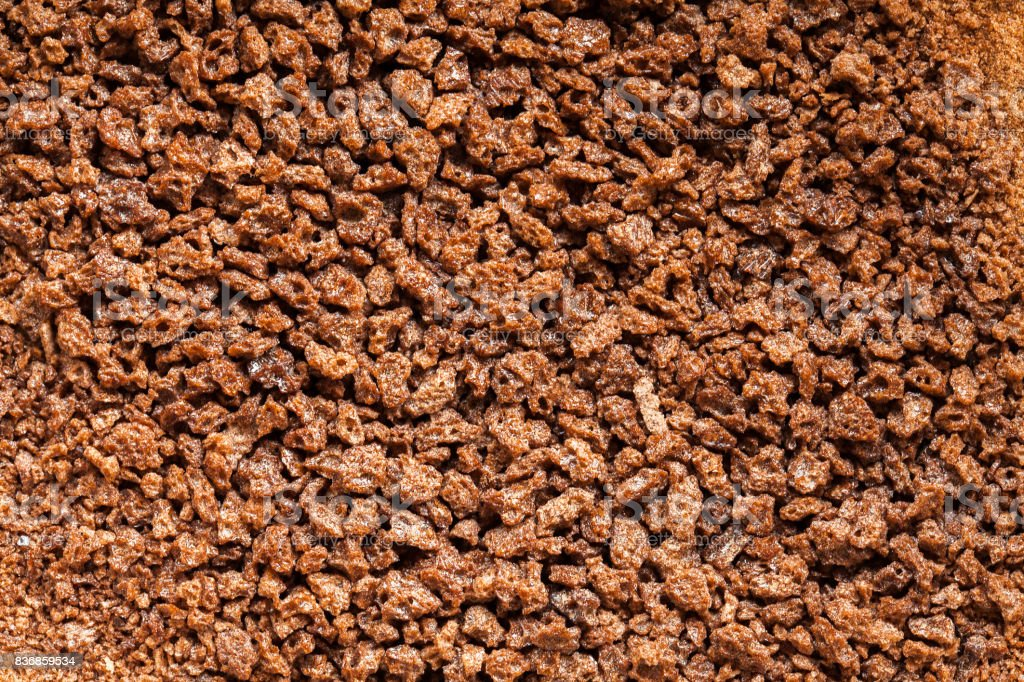 Chocolate powder high definitin pattern stock photo