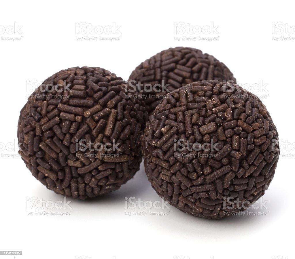 chocolate pralines royalty-free stock photo