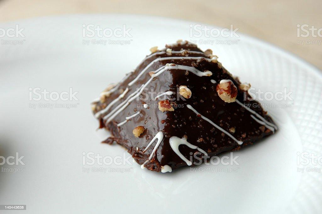 Chocolate Pyramid royalty-free stock photo