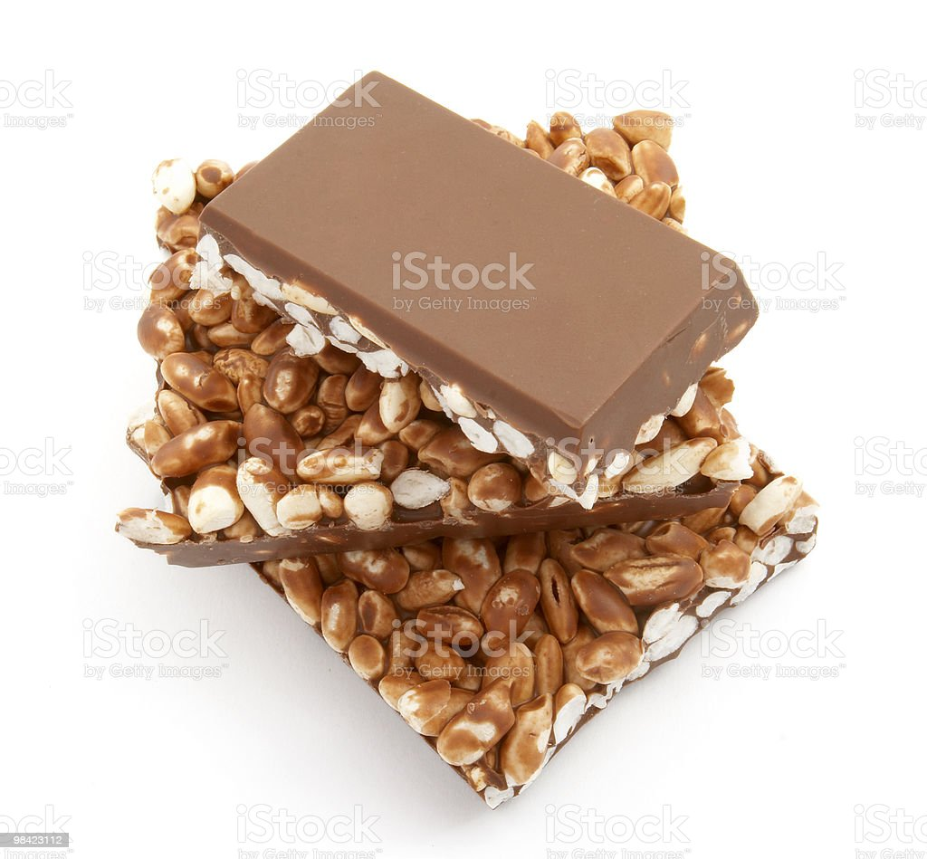 chocolate rice food candy sweet dessert royalty-free stock photo
