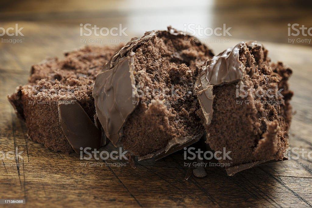 Chocolate Roll stock photo
