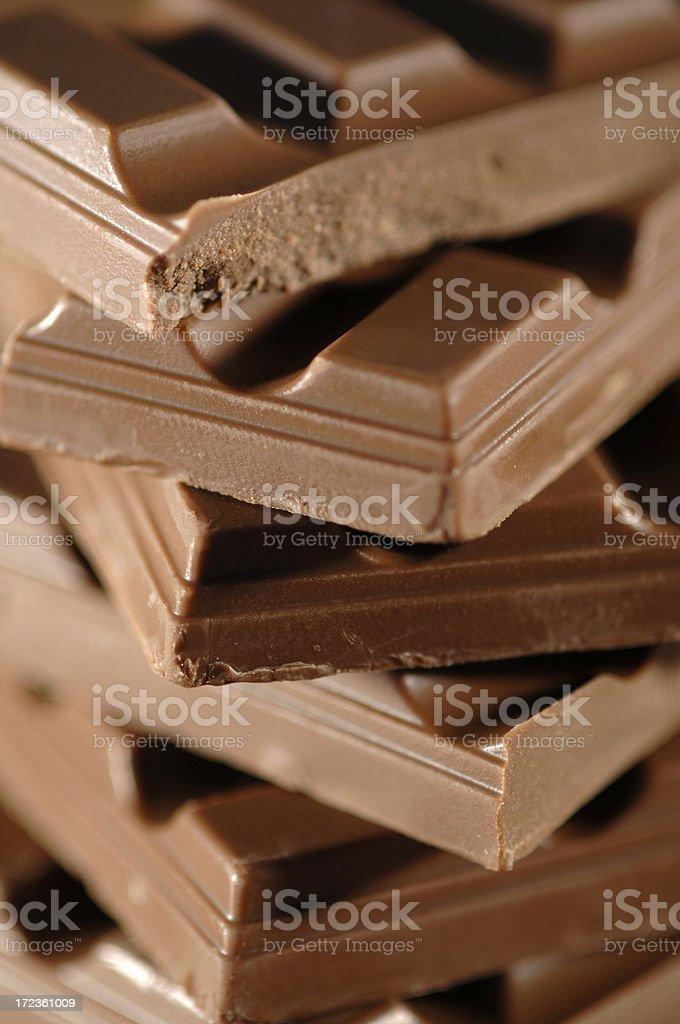 chocolate series royalty-free stock photo