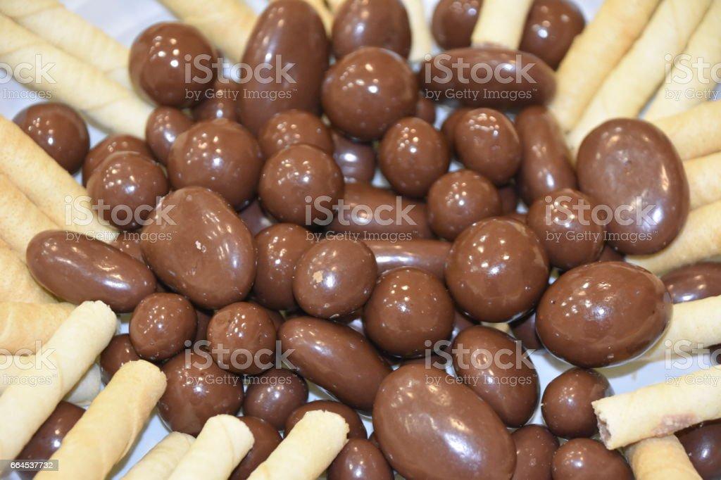 Chocolate Snack royalty-free stock photo