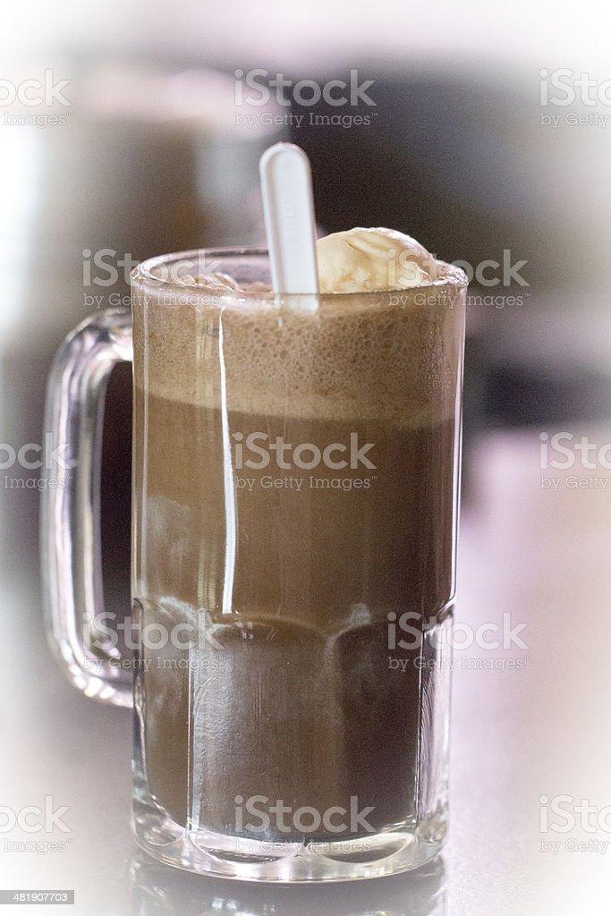 Chocolate Soda stock photo