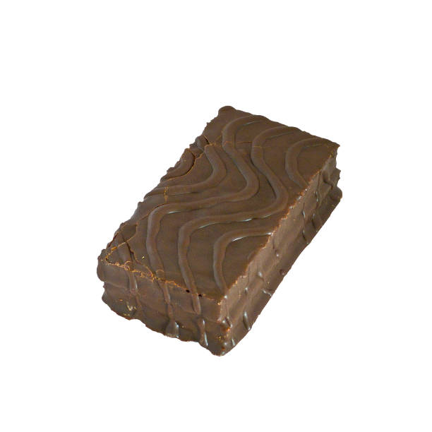 Cтоковое фото Chocolate souffle