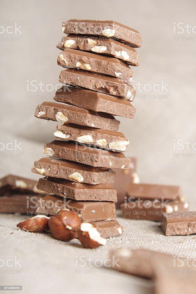 Chocolate still-life royalty-free stock photo