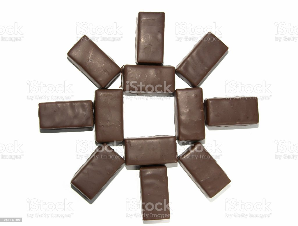 Chocolate Sun royalty-free stock photo