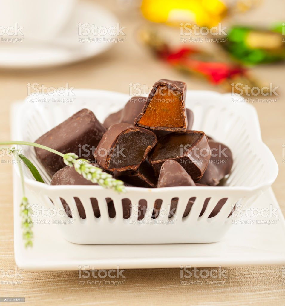 Dulces de Chocolate - foto de stock