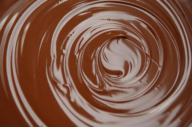 tourbillon de chocolat - glaçage photos et images de collection