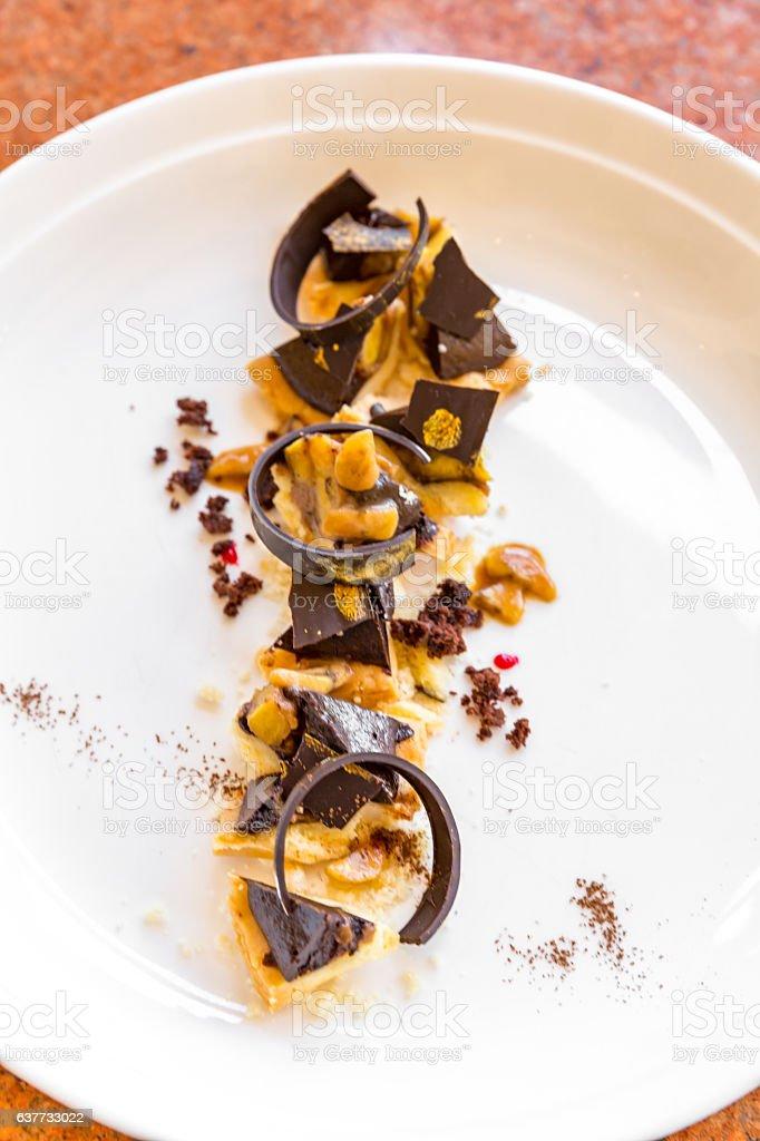 Tarte de Chocolate - fotografia de stock