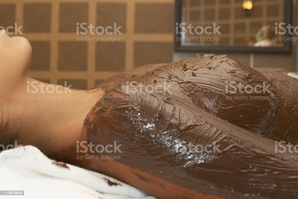 chocolate theraphy royalty-free stock photo