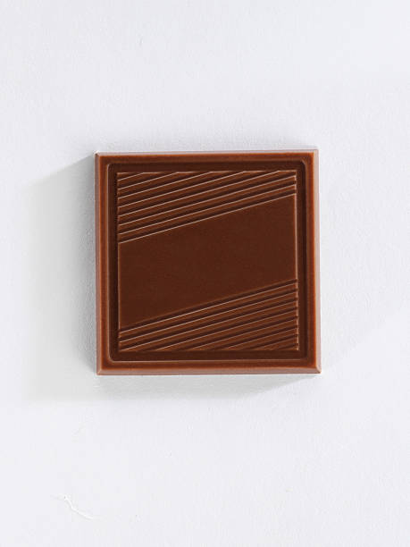 chocolate thin - square shape stock pictures, royalty-free photos & images