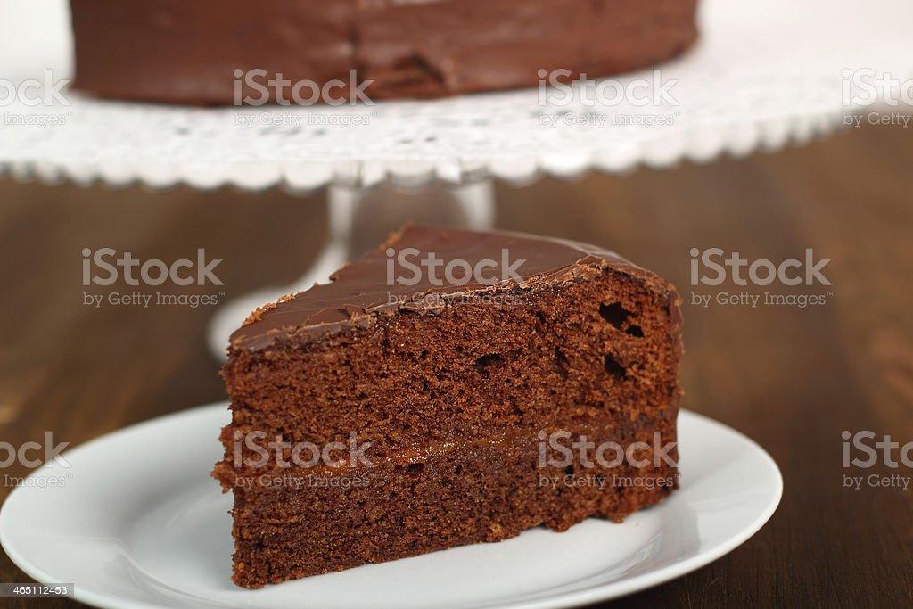 Chocolate Torte stock photo