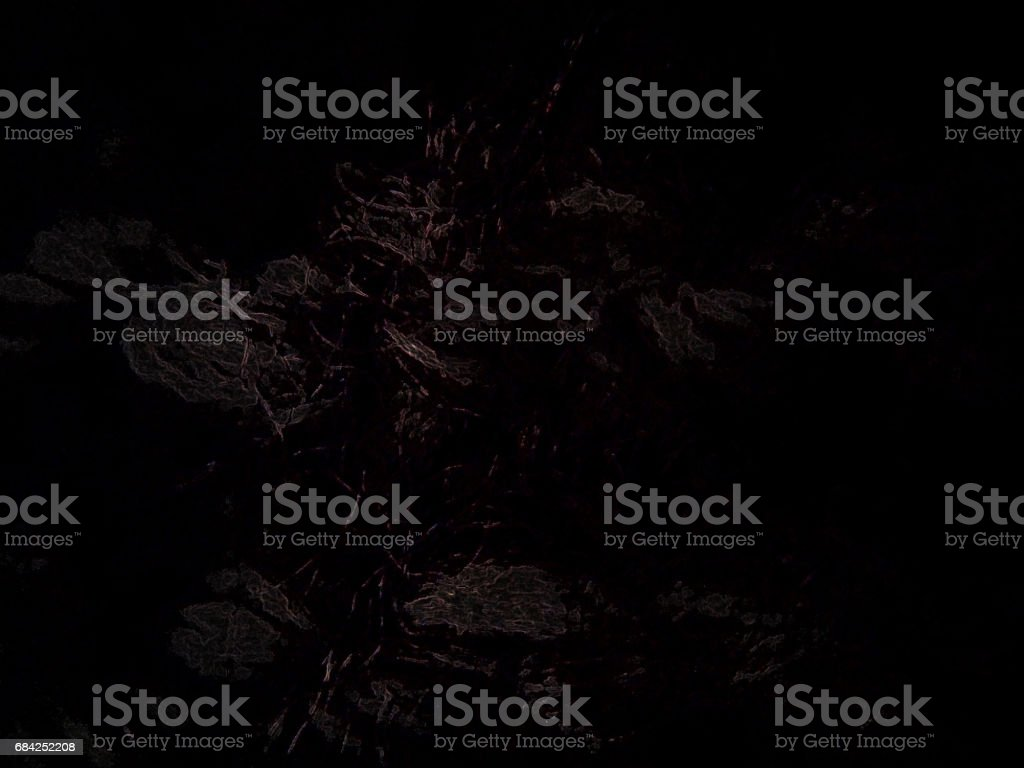 chocolate tree in the black deep space royalty-free stock photo