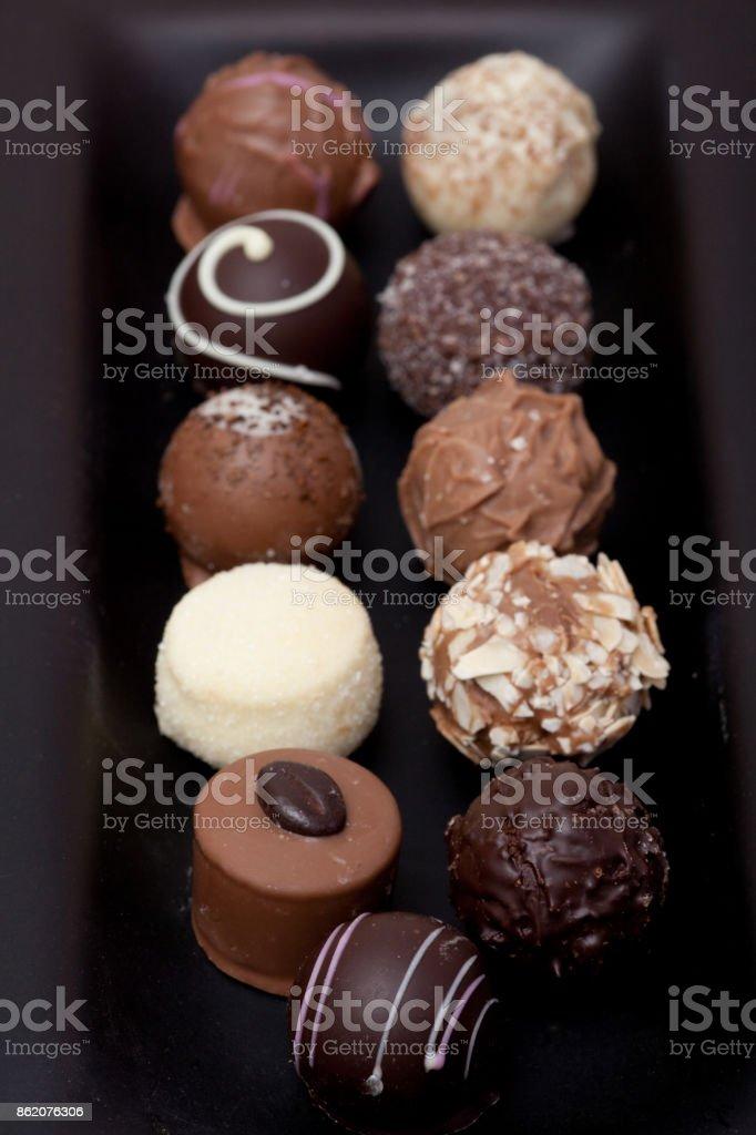 Chocolate Truffle stock photo