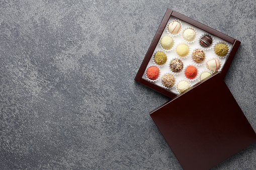 Chocolate truffles mix