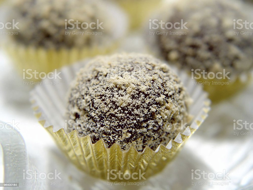 Chocolate Truffles - Royalty-free Abstract Stock Photo