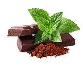 チョコレートとミント