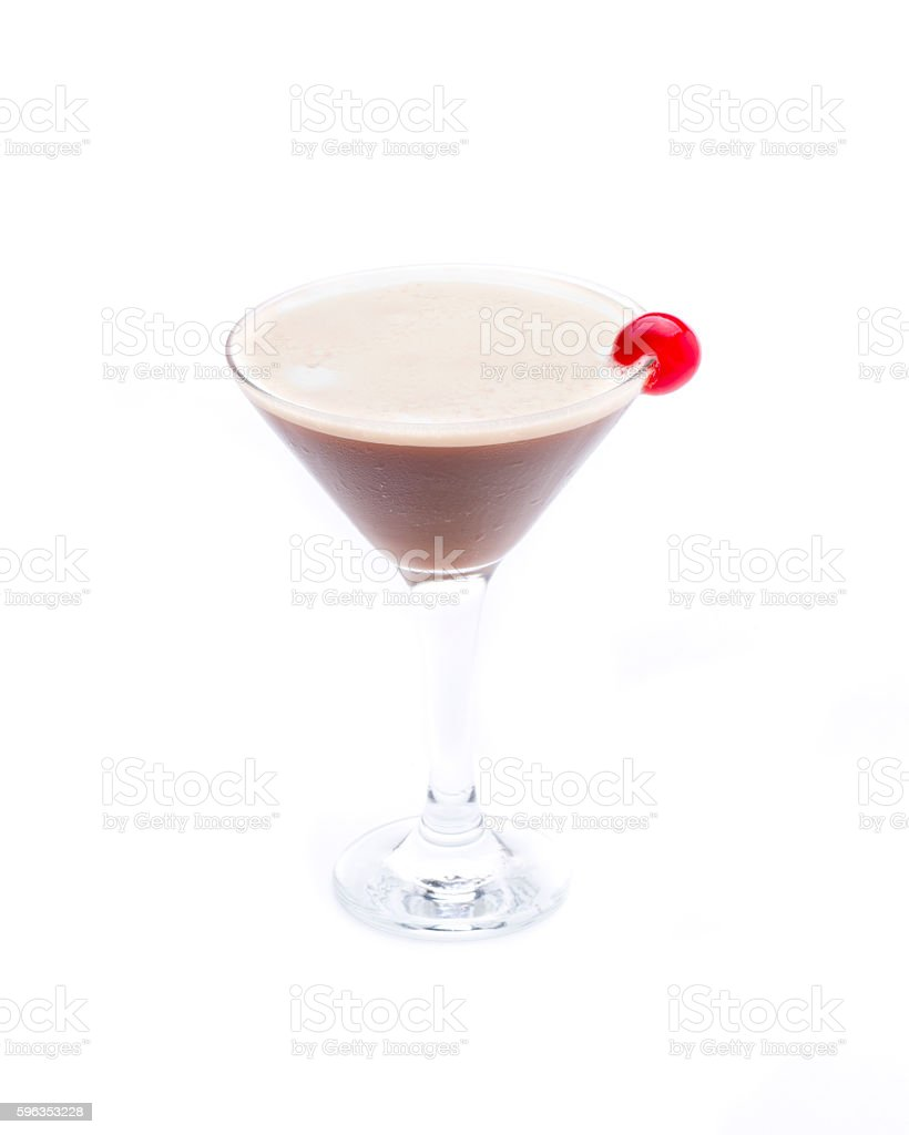 chocolated cocktail royalty-free stock photo