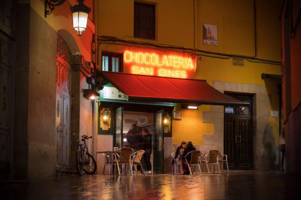 Schokolateria San Gines in Madrid, Spanien – Foto