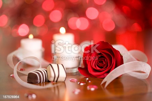 istock Chocolates and Candles 157526954