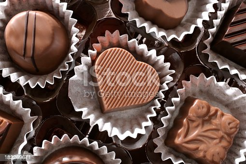 183269671 istock photo chocolates and love 183269671