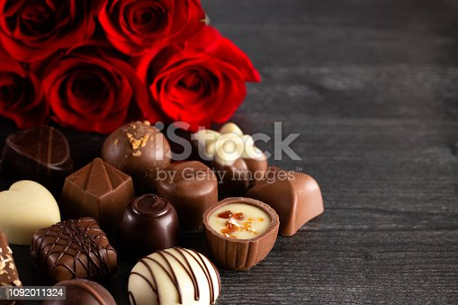 Chocolates and Roses A Perfect Combination for the Woman You Love