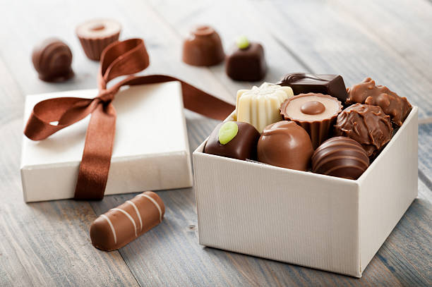 chocolates - playpen stock pictures, royalty-free photos & images