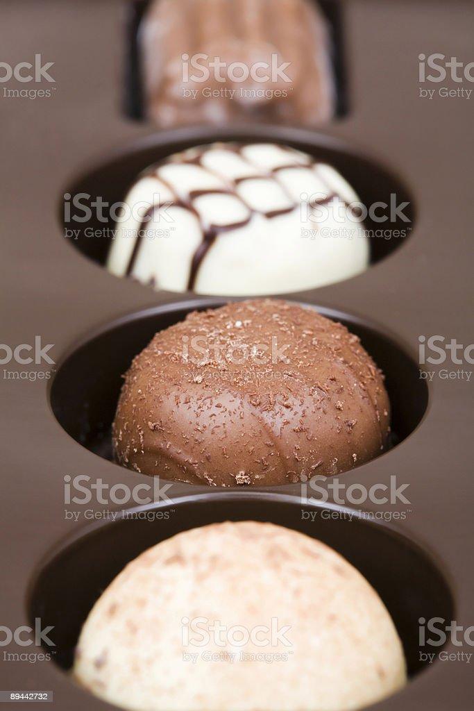 Chocolates royalty free stockfoto
