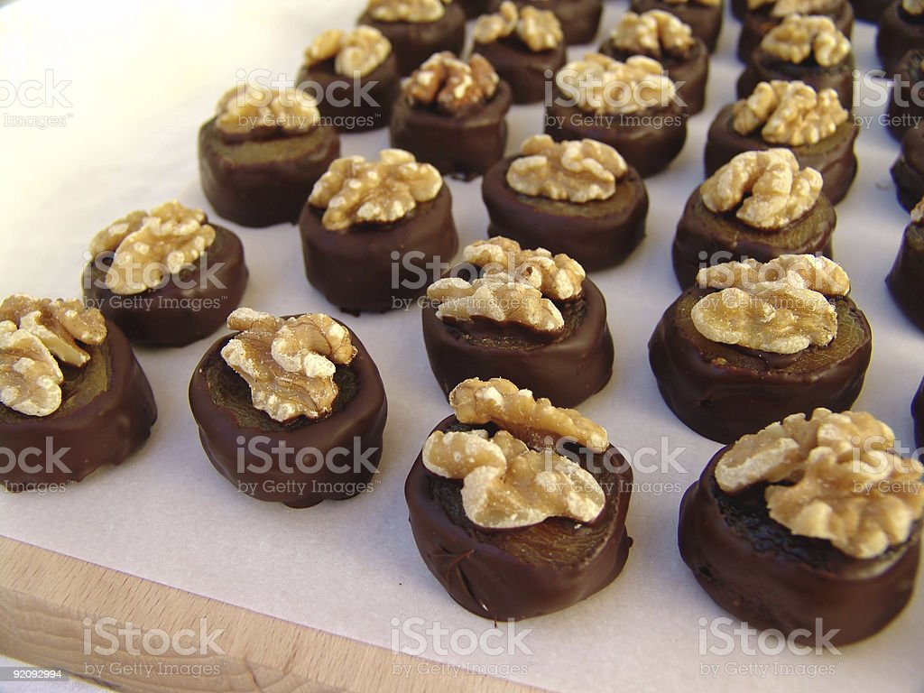 chocolates royalty-free stock photo