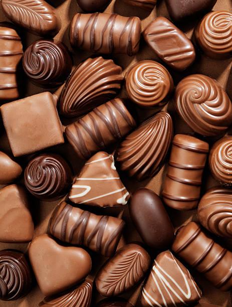 Chocolates stok fotoğrafı